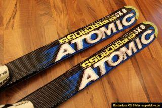 Atomic SX 8 Supercross Carving Ski Kinderski 140cm mit Atomic Race 275