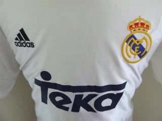 Vintage Shirt Real Madrid 1998/00 (L) Home Jersey Maglia Camiseta
