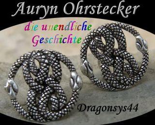 AURYN Symbol f.d.Unendlichkeit 925erSilb Ohrstecker