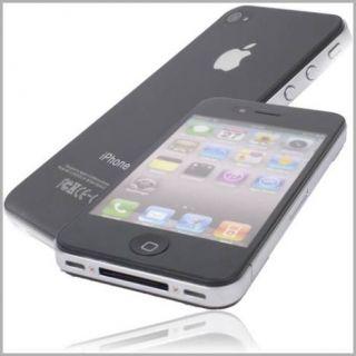 Matte Display Schutz Folie Apple iPhone 4 Vorne Hinten