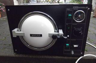 MELAG Autoklav 23 Dampfsterilisator+Tray+Tabs,OHNE ROST,100% OK