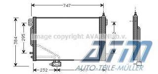 Kondensator MERCEDES BENZ C CLASS Coupe (CL203) C 230 K