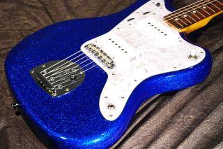 FENDER JAPAN JAZZMASTER JM66 BM Blue Sparkle Shop order Rare color MIJ