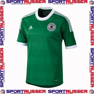 Adidas Deutschland DFB Away Jersey Trikot EM 2012 grün