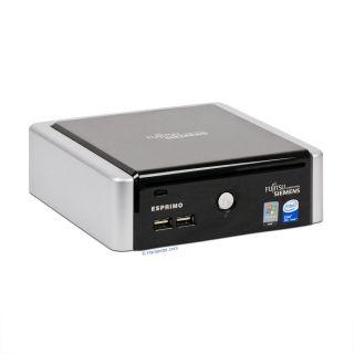 Siemens Esprimo Q5010 Core Duo 1 66GHz 1GB 80GB DVD RW GMA 950 Mini PC