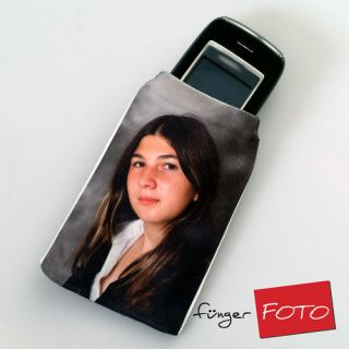 Handysocke mit eigenem Foto Fotogeschenk Handy Socke