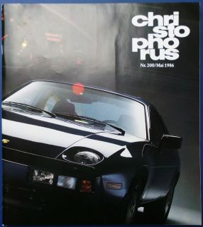 Christophorus Das Porsche Magazin Nr. 200 Mai 1986 / Porsche 959