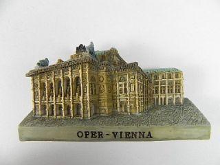 WIEN Oper,Österreich,Vienna,Austria,Magnet Poly 3D,Standmodell,7 cm