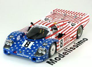 18 Minichamps Porsche 956L #8 Le Mans 1986