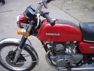 Honda CB 125,Bj.1973 ,Farbe Rot.