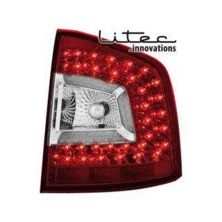 LITEC LED Rückleuchten Skoda Octavia Combi 1Z ab Bj. 04