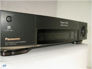 PANASONIC NV HS 950 EG S VHS Video Recorder TOP 1A (EU)