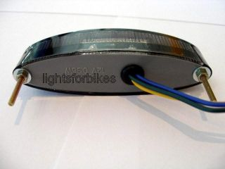 Mini LED Rücklicht SCHWARZ Streetfighter/Custom Bike