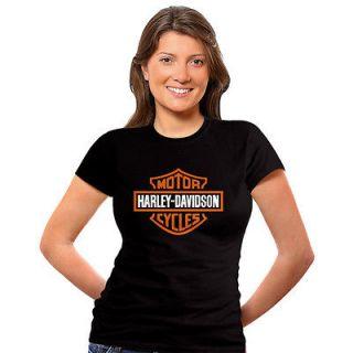 Harley Davidson Motorrad Biker Schwarz Herren T Shirt Chopper S M L XL