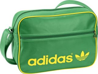 Adidas Tasche AC Airliner Bag green/yellow