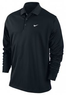NIKE GOLF TIGER WOODS POLO LONGSLEEVE TECH Dri Fit POLO SHIRT ++ Gr. S
