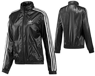 adidas originals faux leather windbreaker windrunner. Black Bedroom Furniture Sets. Home Design Ideas