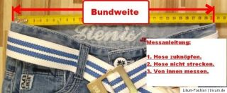 Jeans Thermo Hose Junge Winter GOV DENIM 88312 Gr. 128   170