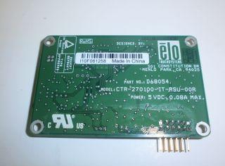 ELO TOUCHSYSTEMS D68054 CTR 270100 Dual Serial/USB Controller NEU
