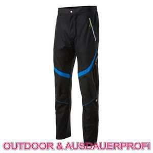 Löffler Skilanglauf Tight WS Soft Shell Hose Ski Skating Windstopper