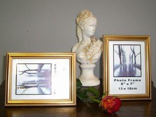 Antik  Stil Bilderrahmen Fotorahmen Gold Rahmen Foto 10 x 15 bis 13 x