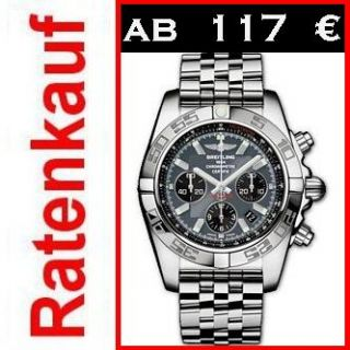NEUE BREITLING WINDRIDER CHRONOMAT B01 AB0110 995 Luxus Uhr RATENKAUF