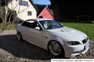 BMW M3 E93 Cabrio Umbau Tuning 118 KL echt Alufelgen Alpina