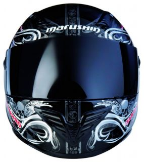 Marushin FIGHTER Helm 999 RS MONSTRA +Gratis Visier M
