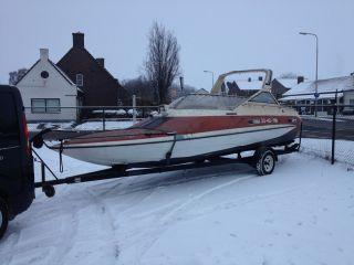 Glastron Carlson CV   23 Yacht Motorboot Sportboot Boot Trailer