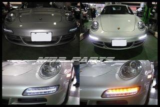 05 08 PORSCHE Carrera 911 997 C2 C2S C4 C4S CT3 Facelift DRL LED