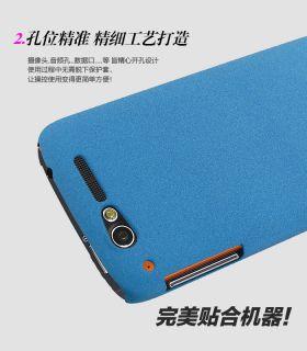 IMAK Cowboy Slim Hard Cover Case LCD Guard Alcatel One Touch OT 997D