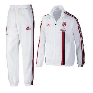 Adidas AC Milan Herren Trainingsanzug Mailand Präsentationsanzug 2012