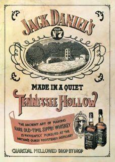 Jack Daniels   Tennessee Hollow Poster Plakat #307