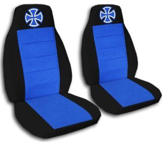 and Medium Blue Iron Cross seat covers. 40/20/40 seats for a 2007