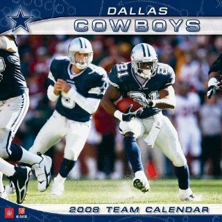 Dallas Cowboys 2008 Wall Calendar: Sports & Outdoors