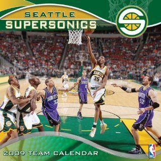 Seattle Supersonics 2009 12 x 12 Team Wall Calendar