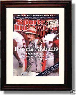 Autograph Print   Alabama Crimson Tide   8/22/2007