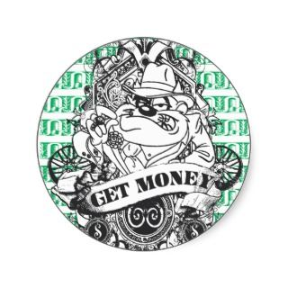 Taz Get Money Sticker