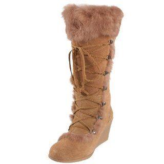 BEARPAW Womens Kaska Fur Boot Shoes