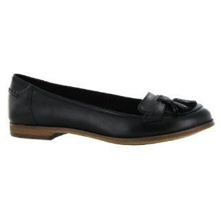 Clarks Angelica Slice Black Leather Womens Shoes Shoes