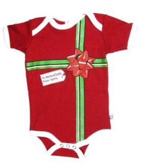 Christmas Gift To Mommy/Daddy From Santa Baby Bodysuit