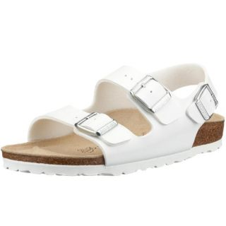 sandals Milano from Birko Flor in White with a regular insole Shoes