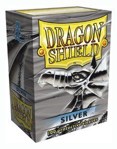 Dragon Shield 100 Sleeves   Silver Sports & Outdoors