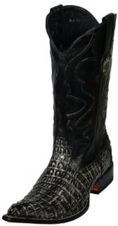 Western Boots Caiman Tail Leather Alligator Crocodile 3549 Shoes