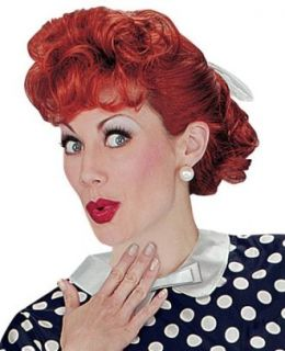 I Love Lucy Wig Clothing