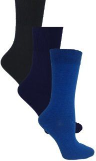 Toe  Womens Non binding Top Socks 3 Pack, white, fits shoes size 4 10
