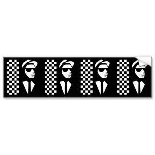 Ska Bumper Sticker