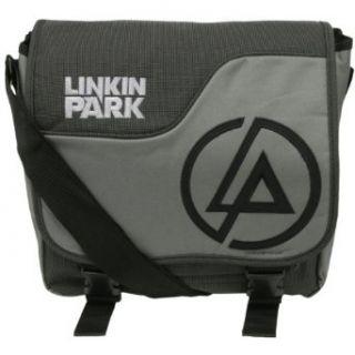 Linkin Park   Atomic Age Logo Messenger Bag Clothing