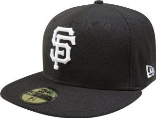 MLB San Francisco Giants Black with White 59FIFTY Fitted
