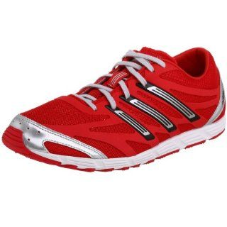 adidas Mens adizero PR Running Shoe,Red/Silver/Black,13.5 M Shoes